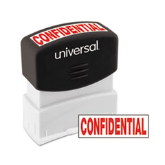 UNV 10046 Universal Pre-Inked One-Color Stamp UNV10046