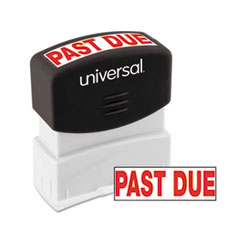 UNV 10063 Universal Pre-Inked One-Color Stamp UNV10063