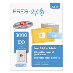 AVE 30640 PRES-a-ply Labels AVE30640