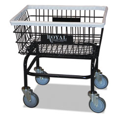 RBT R27BKXWA5UN Royal Basket Trucks Wire Laundry Cart RBTR27BKXWA5UN