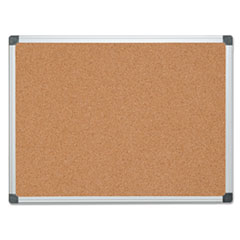 BVC CA051170 MasterVision Value Cork Bulletin Board with Aluminum Frame BVCCA051170