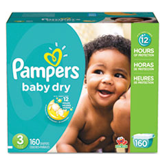 PGC 86237CT Pampers  Baby Dry  Diapers PGC86237CT