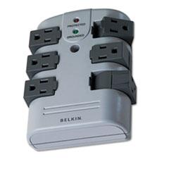 BLK BP106000 Belkin Pivot Plug Surge Protector BLKBP106000