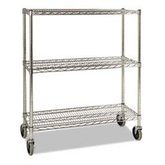 RCP 9G79CHR Rubbermaid Commercial ProSave Shelf Ingredient Bin Cart RCP9G79CHR