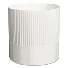 RPP SCH7 Royal Stirling Fluted Chef's Hats RPPSCH7