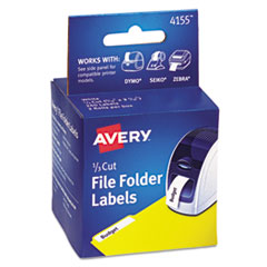 AVE 4155 Avery Thermal Printer Labels AVE4155