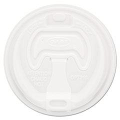 DCC 16RCLPK Dart Optima Reclosable Lids for Foam Hot Cups DCC16RCLPK