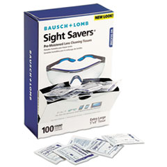BAL 8574GMCT Bausch & Lomb Sight Savers Premoistened Lens Cleaning Tissues BAL8574GMCT
