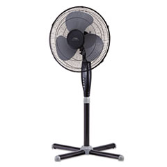 "LAK LSF1610CBM Lakewood 16"" Three-Speed Oscillating Pedestal Fan LAKLSF1610CBM"