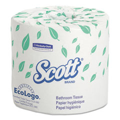 KCC 04460RL Scott Standard Roll Bathroom Tissue KCC04460RL
