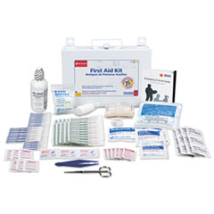 FAO 224U First Aid Only First Aid Kit in Metal Case for Up to 25 People FAO224U