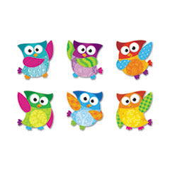 TEP T10996 TREND Owl-Stars! Classic Accents & Bulletin Board Sets TEPT10996