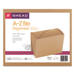 SMD 70121 Smead Indexed Expanding Kraft Files SMD70121