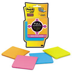 MMM F3304SSAU Post-it Notes Super Sticky Full Adhesive Notes MMMF3304SSAU
