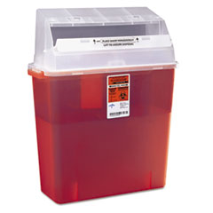 MII MDS705203H Medline Sharps Container-Patient Room MIIMDS705203H