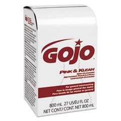 GOJ 912812EA GOJO 800-ml Bag-in-Box Refills GOJ912812EA
