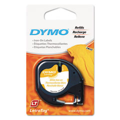DYM 18771 DYMO LetraTag Fabric Iron-On Labels DYM18771