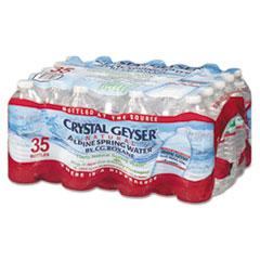 CGW 35001CTDEP Crystal Geyser Natural Alpine Spring Water CGW35001CTDEP