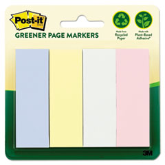 MMM 6714RPA Post-it Greener Page Markers Page Markers MMM6714RPA