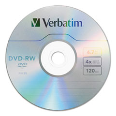 VER 95179 Verbatim DVD-RW Rewritable Disc VER95179