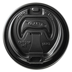 SCC OPT316B Dart Optima Reclosable Lids for Hot Paper Cups SCCOPT316B