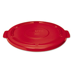 RCP 264560RED Rubbermaid Commercial Vented Round Brute Lid RCP264560RED