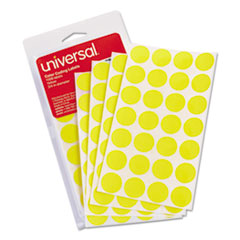 UNV 40114 Universal Self-Adhesive Removable Color-Coding Labels UNV40114