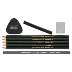 SAN 1774264 Prismacolor Scholar Erasable Colored Pencil Set SAN1774264