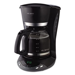 MFE DWX23RB Mr. Coffee 12-Cup Programmable Coffeemaker MFEDWX23RB