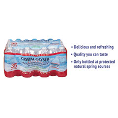 CGW 35001CT Crystal Geyser Alpine Spring Water CGW35001CT