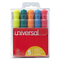 UNV 08860 Universal Desk Highlighters UNV08860