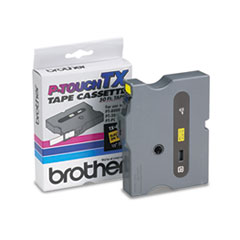 BRT TX6311 Brother P-Touch TX Series Standard Adhesive Laminated Labeling Tape BRTTX6311