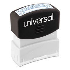 UNV 10157 Universal Pre-Inked One-Color Stamp UNV10157