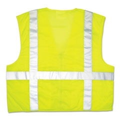 CRW CL2LCX3 MCR Safety Garments Luminator Safety Vest CRWCL2LCX3