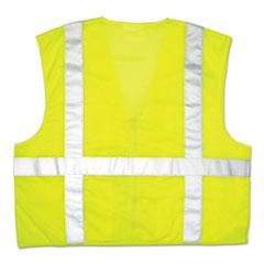 CRW CL2LCX3 MCR Safety Garments Luminator Safety Vest CRWCL2LCX3