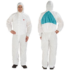 MMM 4520BLKL 3M Disposable Protective Coveralls MMM4520BLKL