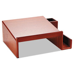 ROL 1734646 Rolodex Wood Tones Phone Center Desk Stand ROL1734646