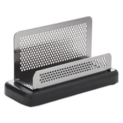 ROL E23578 Rolodex Distinctions Business Card Holder ROLE23578