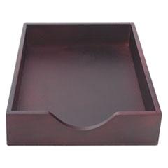 CVR 07223 Carver Hardwood Stackable Desk Trays CVR07223