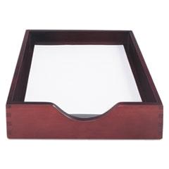 CVR 07213 Carver Hardwood Stackable Desk Trays CVR07213