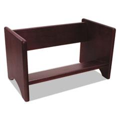 CVR 09753 Carver Wood Binder Rack CVR09753