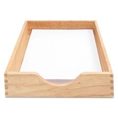 CVR 07211 Carver Hardwood Stackable Desk Trays CVR07211