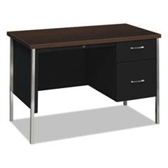 HON 34002RMOP HON 34000 Series Single Pedestal Desk HON34002RMOP