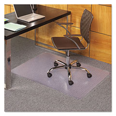 ESR 121821 ES Robbins EverLife Light Use Chair Mat for Flat Pile Carpet ESR121821