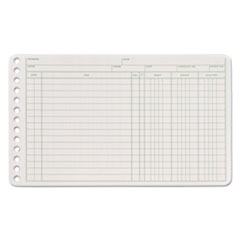 ABF ARB58100 Adams Six-Ring Ledger Binder Refill Sheets ABFARB58100