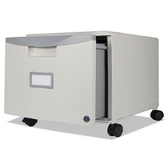 STX 61263U01C Storex Single-Drawer Mobile Filing Cabinet STX61263U01C
