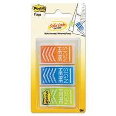 "MMM 682SHOBL Post-it Flags Arrow Message 1"" Flags MMM682SHOBL"