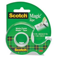 MMM 119 Scotch Magic Tape in Handheld Dispenser MMM119