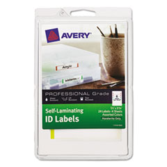 AVE 00748 Avery Self-Laminating ID Labels AVE00748