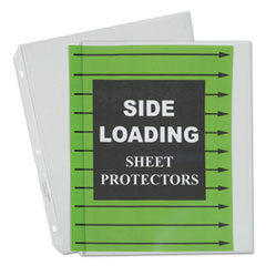 CLI 62313 C-Line Side Loading Polypropylene Sheet Protectors CLI62313